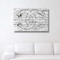 Oliver Gal 'All Glory White'  Canvas Art