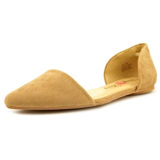 Penny Loves Kenny Women's 'Nookie' Tan Velvet Casual Shoes