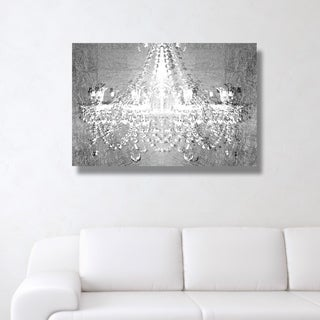 Dramatic Entrance Chrome' Canvas Art