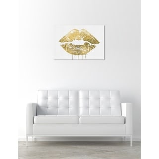 Oliver Gal 'More Gold Please' Canvas Art