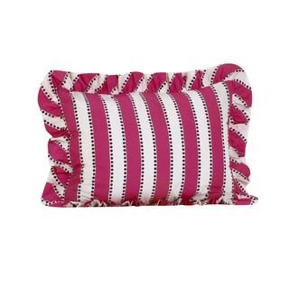 Hottsie Dottsie Cotton Ruffled Pillow Sham