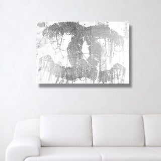 Oliver Gal 'Hey Lolita Silver' Canvas Art - gray, silver (4 options available)