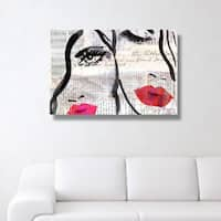 Oliver Gal 'Sister'  Canvas Art