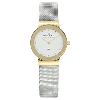 Skagen Women's 358SGSCD Stainless Steel Quartz Watch