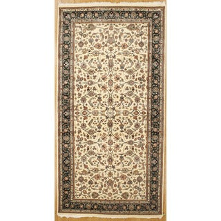 Hand Knotted Flat Weave Runner (3'6 x 9'11)