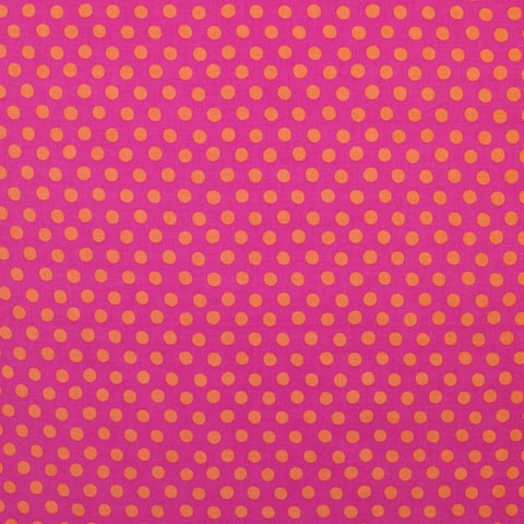 Sundance Pink Dot Fabric (3 Yards)