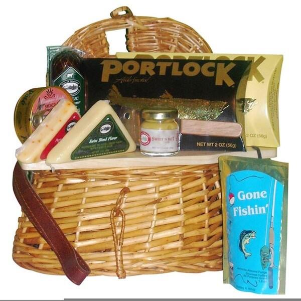 Gone Fishing Gift Basket