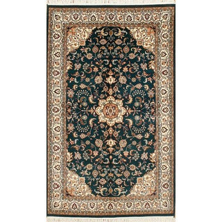 Hand Knotted Flat Weave Rug (5' x 8' 5)