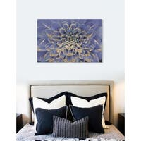 Oliver Gal  'Floralia Lilac' Floral and Botanical Wall Art Print on Premium Canvas - lavender
