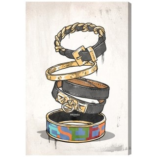 Oliver Gal 'Arm Candy One' Canvas Art