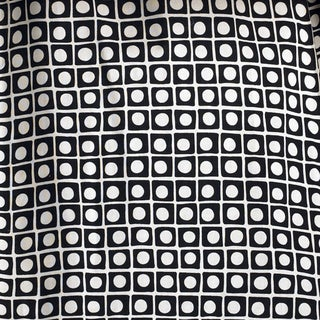 Pirates Cove Black Background w/ Big White Dot Fabric (3 Yards)
