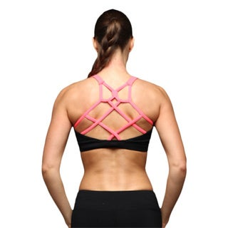 Athletic Bra With Crisscross Straps In The In Front And Back