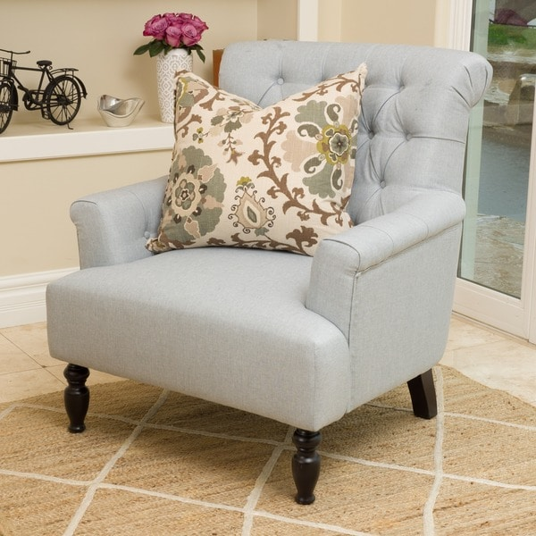Shop Bernstein Fabric Club Chair By Christopher Knight