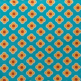 Gypsy Blue Background Small Flower Fabric (3 Yards)
