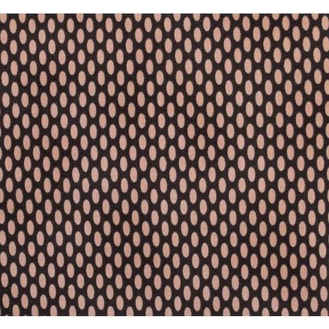 Nightingale Dark w/ Pink Dot Fabric (3 Yards)