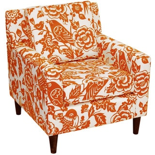 Skyline Furniture Canary Tangerine Arm Chair