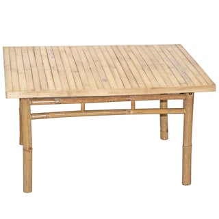 Indoor/ Outdoor Square Bamboo Coffee Table (Vietnam)