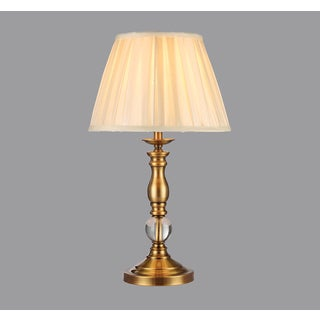 Fabianne 1-light Fabric 10-inch Table Lamp