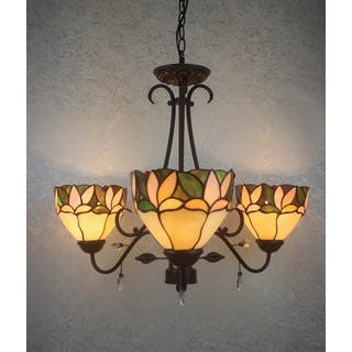 lighting tiffany style design chandelier chandeliers cheap home ideas