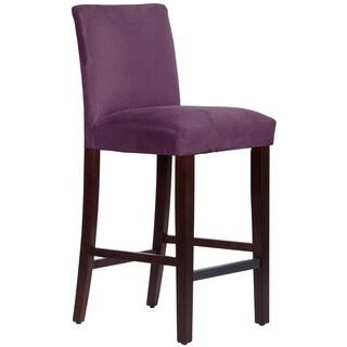 Skyline Furniture Premier Purple Uptown Barstool
