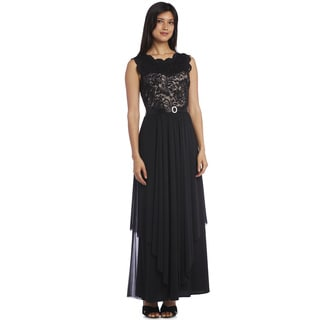 R&M Richards Lace Gown