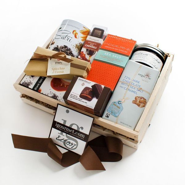 igourmet Salty Chocolate Gift Crate