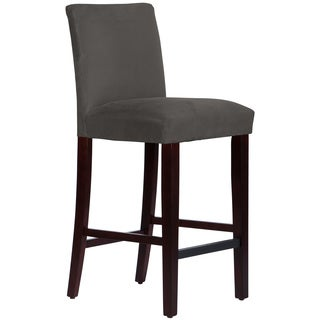 Skyline Furniture Premier Charcoal Uptown Barstool
