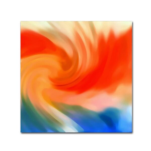 Amy Vangsgard 'Storm At Sea Square 2' Canvas Wall Art - Multi