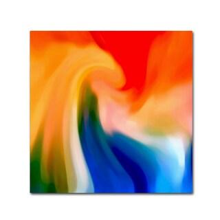 Amy Vangsgard 'Storm At Sea Square 1' Canvas Wall Art