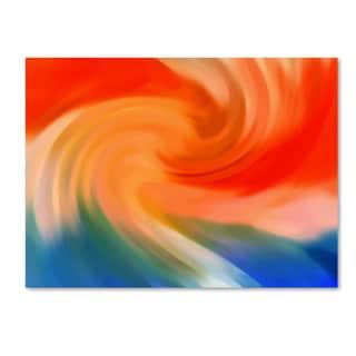 Amy Vangsgard 'Storm At Sea 1' Canvas Wall Art