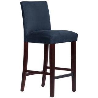 Skyline Furniture Bar stool in Microsuede Navy