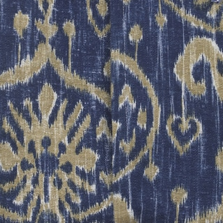 Sidekick Blue Ikat Fabric (3 Yards)