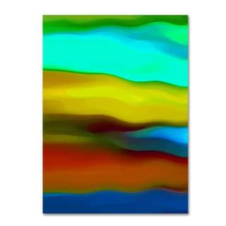 Amy Vangsgard 'River Runs Through Vertical 1' Canvas Wall Art