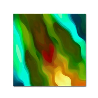 Amy Vangsgard 'River Runs Through Square 2' Canvas Wall Art