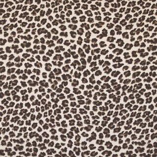 Here Kitty Kitty Leopard Print Fabric (3 Yards)