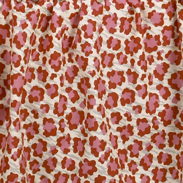 Here Kitty Pink Animal Print Fabric 3 Yards Free Shipping On Orders Over 45 11512131