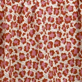 Here Kitty Kitty Pink Animal Print Fabric (3 Yards)