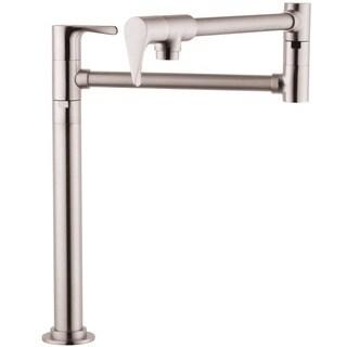Hansgrohe Citterio Pot Filler Faucet 39838801 Steel