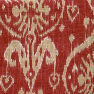 Sidekick Red Ikat Fabric (3Yards)