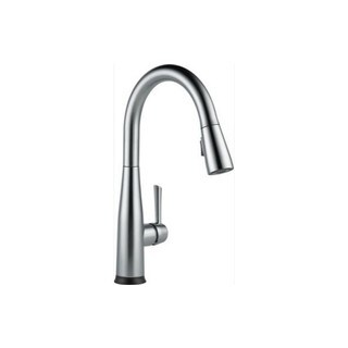 Delta Essa Single Handle Pull-Down Kitchen Faucet with Touch2O Technology 9113T-AR-DST Arctic Stainless