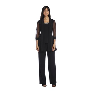R&M Richards Beaded Pant Suit (More options available)