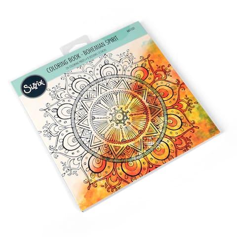 Sizzix Bohemian Spirit Lindsey Serata Coloring Book - White