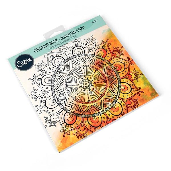 Sizzix  Bohemian Spirit  Lindsey Serata Coloring Book