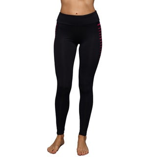 Women's Side Line Panel Athletic Leggings