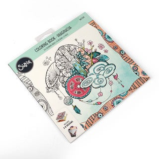 Sizzix  Imaginasia  Katelyn Lizardi Coloring Book
