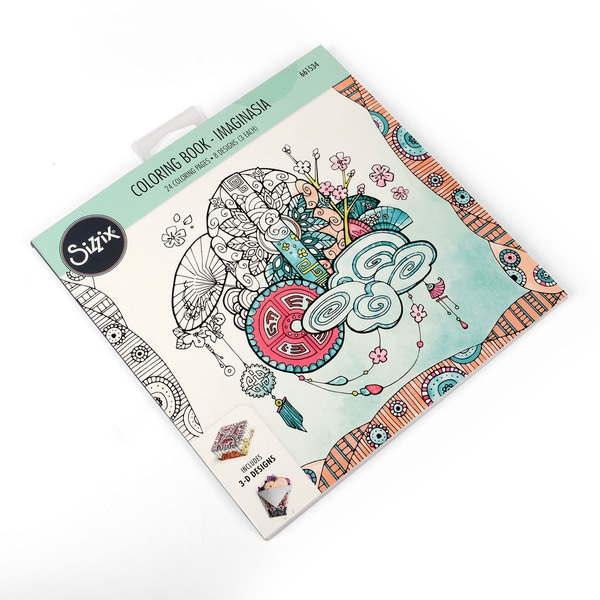 Sizzix Imaginasia Katelyn Lizardi Coloring Book