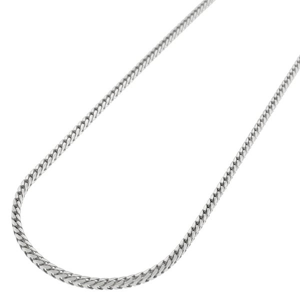 "Sterling Silver Italian 1.5mm Solid Franco Square Box Link 925 Rhodium Necklace Chain 16"" - 30"""