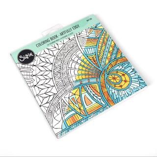 Sizzix Artfully Edgy Jen Long Coloring Book