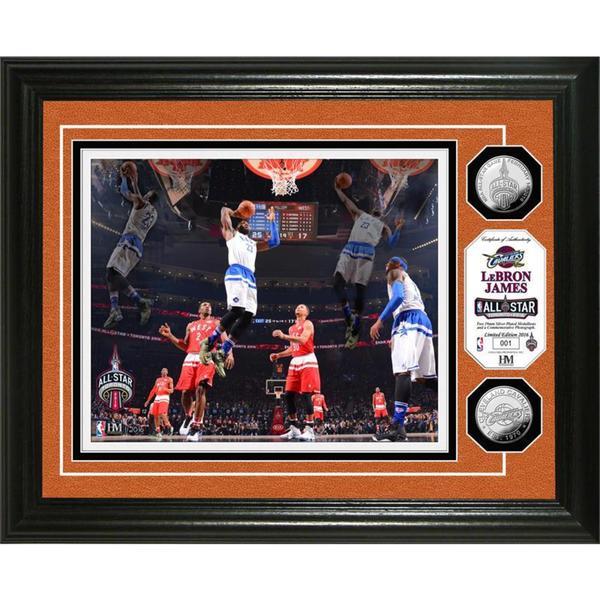 LeBron James 2016 NBA All-Star Game Silver Coin Photo Mint