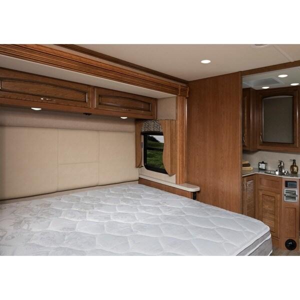 blissful journey rv pillowtop short queensize innerspring mattress bed in a box